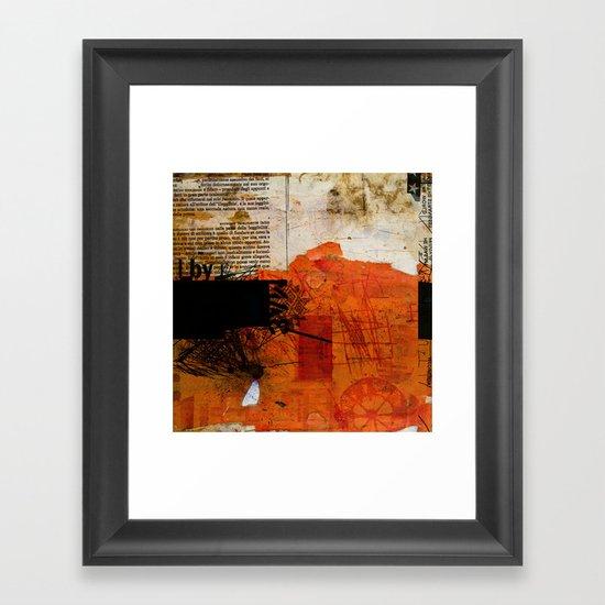 BABEL OVERDUBS IX Framed Art Print