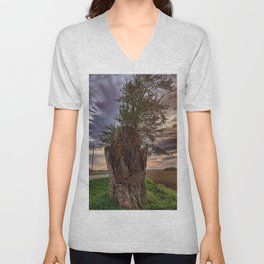 Stump Unisex V-Neck
