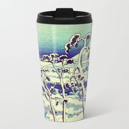 Path in the Snow Travel Mug