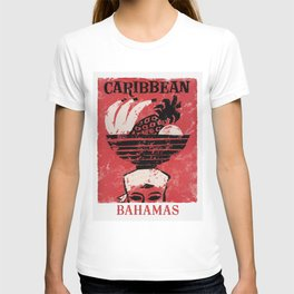 The Bahamas - Vintage Travel Poster T-shirt