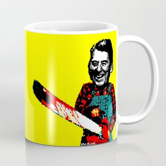 Chainsaw Reagan Mug