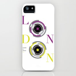 London is always on iPhone Case