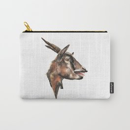 Salivating Goat Carry-All Pouch