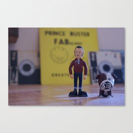 Stan & Charlie (Colour Varient) Canvas Print