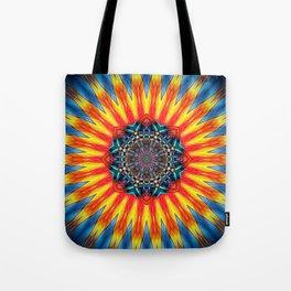 Sun Mandala Tote Bag