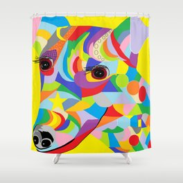 Smooth Fox Terrier Shower Curtain