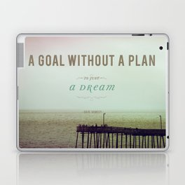 A Goal Without A Plan Laptop & iPad Skin