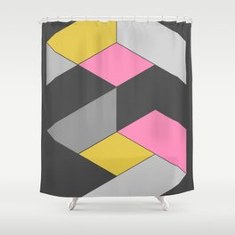 A_Minimal 001 Shower Curtain