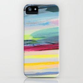 paint stripes iPhone Case