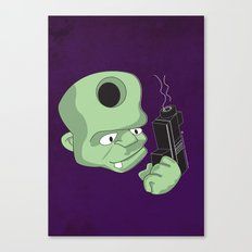 Bullet in the Head Canvas Print