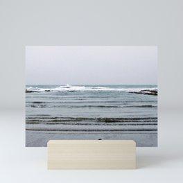 Rippled Sea Mini Art Print