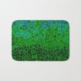 Mosaic Forest Bath Mat