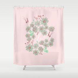 Greeting Petals Shower Curtain