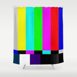 Video Bars Shower Curtain