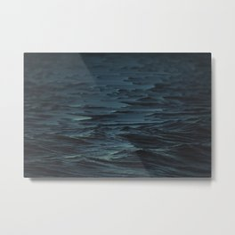 Digital Sea Metal Print