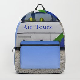 Malev Airlines Bus Backpack