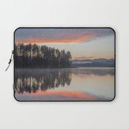 Sheridan Lake Sunset Reflections Laptop Sleeve