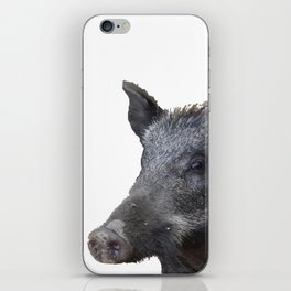 Wild Boar Vector iPhone Skin