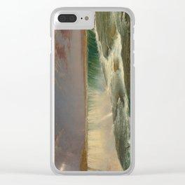 Frederic Edwin Church Niagara 1857 Painting Clear iPhone Case