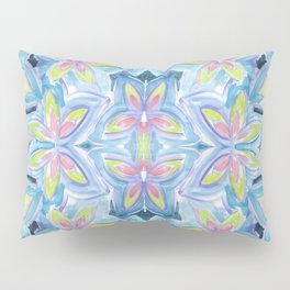 Floral Kaleidoscope Pillow Sham