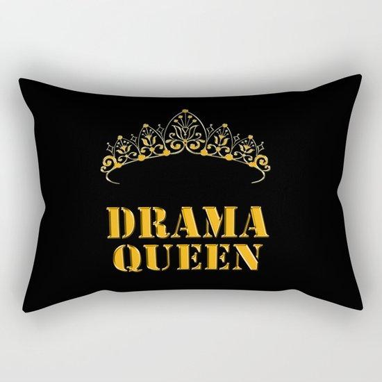 Drama queen - humor Rectangular Pillow