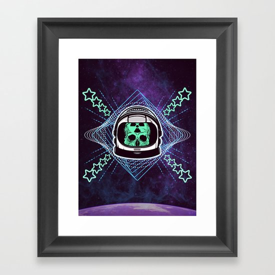 Lonely Traveller  Framed Art Print