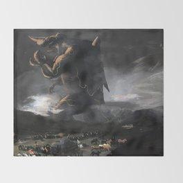 El Kaiju Throw Blanket