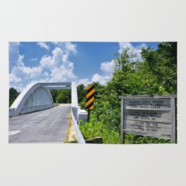 Marsh Arch Bridge on route 66. Rug