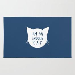 Indoor Cat (silhouette) Rug