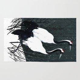Japanese Cranes / Sayuri Rug