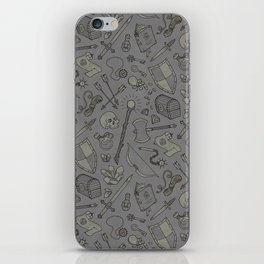 Inventory in Grey iPhone Skin