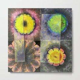 Vanguards Formation Flower  ID:16165-120047-43201 Metal Print