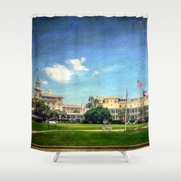 Jekyll Island Club Hotel Shower Curtain