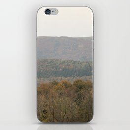 Fall colors in the French mountains iPhone Skin