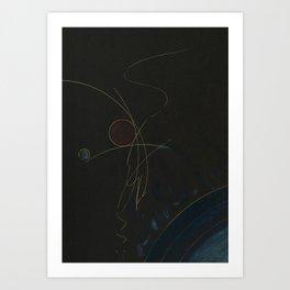 Self as Vibratory Collision Art Print