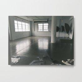 Studio Metal Print
