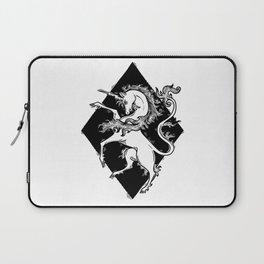unicorn coat of arms Laptop Sleeve