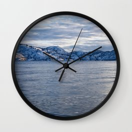 Lake Okanagan Wall Clock