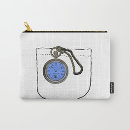 time lord pocket watch Carry-All Pouch