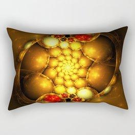 Dragon Eggs - Abstract Fractal Artwork Rectangular Pillow