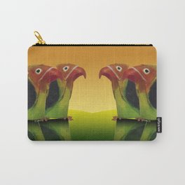 Couple of lovebirds Carry-All Pouch