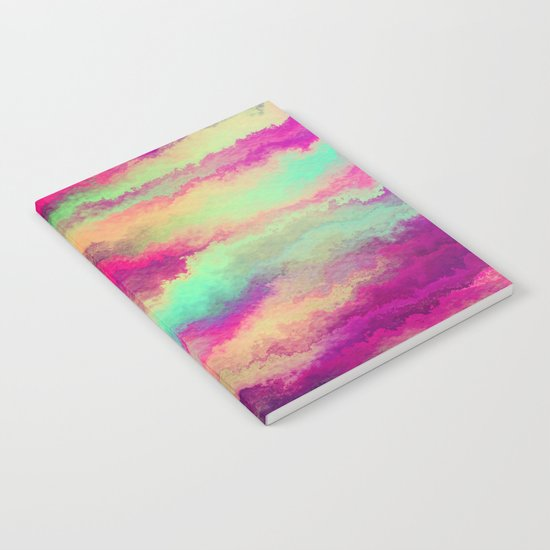Painted Rainbows 6 Notebook