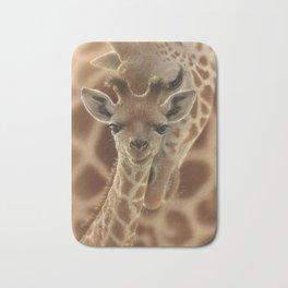 Giraffe Baby - New Born Bath Mat