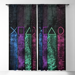 Console buttons Blackout Curtain