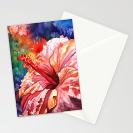 Tropical Hibiscus 2 Stationery Cards
