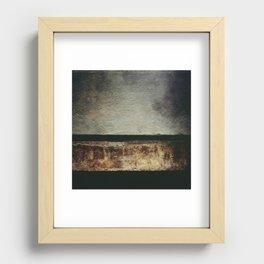 Desert Horizon Recessed Framed Print