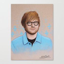 Ed Drawing Canvas Print