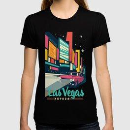 Vegas vintage mode T-shirt