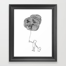 Balloon Framed Art Print