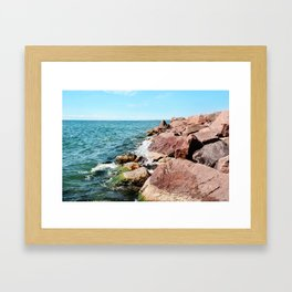 AFE Kew-Balmy Beach 6 Framed Art Print